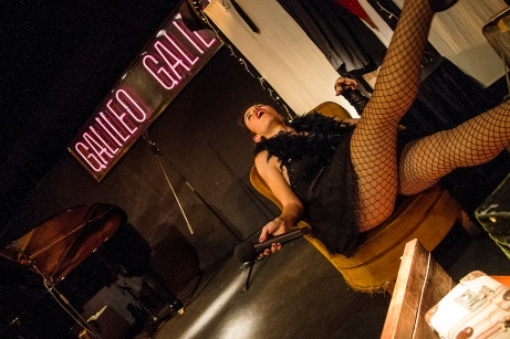 Cabaret Jazz Sala Galileo Galilei Autor: Daniel Claudin